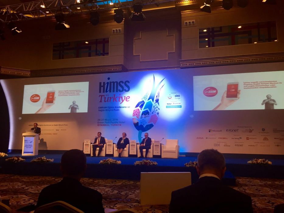3 of IKOL's Applications Were Promoted at HIMSS TURKEY 2016 Conference